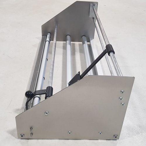 Folienabroller FAG-75NZS - ohne Meterzähler Seitenansicht
