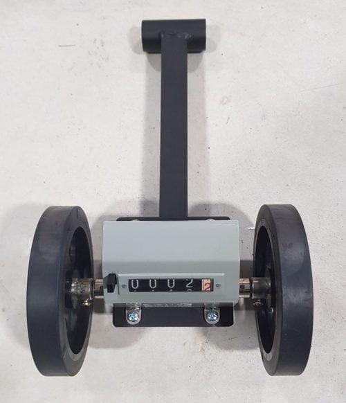 Aufgebauter Meterzähler