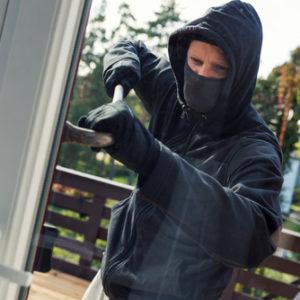 Einbruchschutz-Folie für Fenster